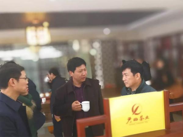 湖南省农业十大品牌评审专家来ca88茶业考察